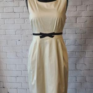 Kate Spade- cream bow dress